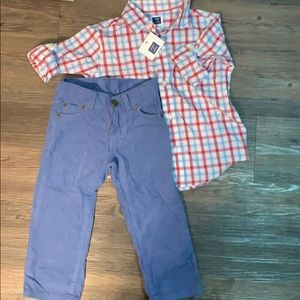 Janie and Jack Bundle Outfit